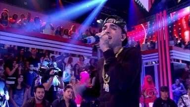 MC Guimê canta 'Eu vim para ficar' no Esquenta! - Cantor fala sobre seu musical com Regina