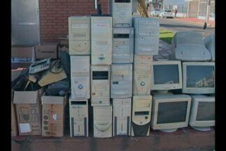 Lyons realiza coleta de mais de uma tonelada de lixo eletrônico em Cruz Alta, RS - Material será enviado para uma empresa de reciclagem.