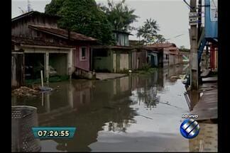 Chuva forte durante a madrugada desta terça (19) provoca alagamentos em Belém - Defesa Civil contabiliza mais de 10 pontos de alagamento.