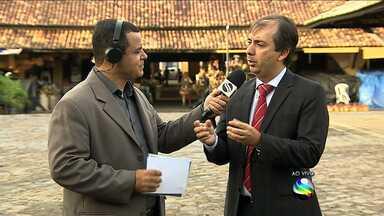 Chefe do BNDES participa de fórum com empresários sergipanos - Chefe do BNDES participa de fórum com empresários sergipanos.