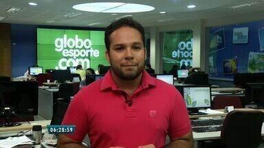 Confira os destaques do GloboEsporte.com nesta terça-feira - Saiba mais em: GloboEsporte.com/ce