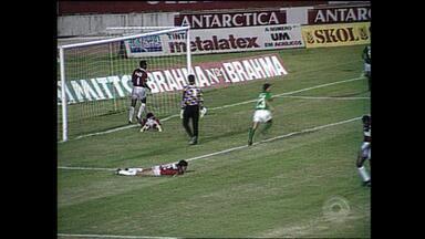 No Beira-Rio, Inter perde para o Atlético Nacional de Higuita; relembre - Assista ao vídeo.