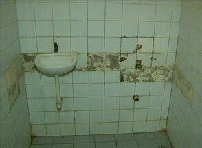 Situação dos banheiros do Parque Euclides Dourado é precária, em Garanhuns - Turistas que frequentam o local são os mais prejudicados.
