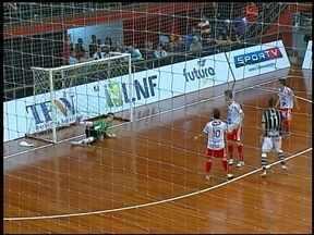 Atlântico empata com o Corinthians - O jogo foi pela Liga Nacional.
