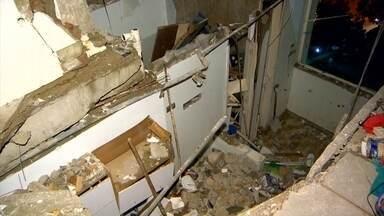 Polícia suspeita de crime na explosão de apartamento no RJ - O alemão Markus Miller está internado em estado grave com queimaduras e ferimentos que podem ter sido causados por facadas ou estilhaços.
