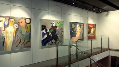 Exposição 'Atelier em Movimento' entra em cartaz nesta quinta em BH - São mais de 20 pinturas inspiradas nas viagens que ele fez a diversos países.
