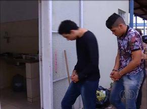Suspeitos de assaltos em comércio da capital são presos - Suspeitos de assaltos em comércio da capital são presos