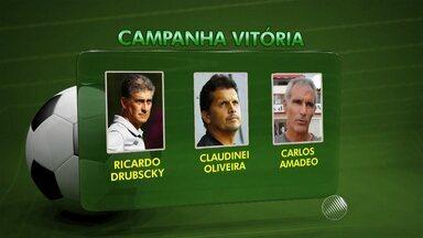 Vitória demite o técnico Claudinei Oliveira; terceiro a comandar a equipe este ano - Confira as notícias do rubro-negro baiano.
