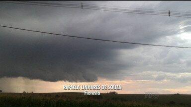 Quarta-feira deve ser chuvosa no Paraná - A possibilidade de chuva em várias regiões do estado é alta, sendo que o tempo pode esfriar no final da semana.