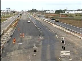 Liberado o trânsito no viaduto de um dos acessos a Pelotas - O novo trecho deve facilitar a entrada dos visitantes da Fenadoce