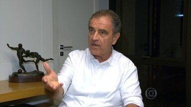 PF apreende documentos, computadores e celulares em empresa de marketing esportivo - A Klefer tem, entre os sócios o empresário Kleber Leite, ex-presidente do Flamengo. A empresa não foi citada nominalmente no processo, mas teve parceria com a Traffic na venda de direitos esportivos no período investigado.