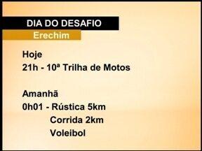 Dia do Desafio é nesta quarta-feira (26) - Já vai dar para praticar atividades físicas de madrugada. Erechim, RS, vai competir com a cidade cubana de Placetas.