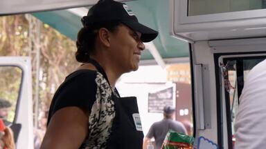 Sonho meu: Telma Silva - A supervisora de telemarketing Telma Silva sonha em ter um foodtruck especializado em massas. Será que ela vai trocar de profissão?