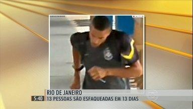 Rio de Janeiro registra 13 assaltos com facas nas últimas duas semanas - O caso mais recente foi com um jovem de 18 anos, dentro de um trem, quando ele ia para a escola.