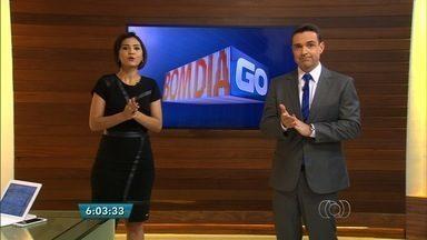 Confira os destaques do Bom Dia Goiás desta segunda-feira (1º) - Acidentes registrados durante o fim de semana estão entre os destaques desta manhã.