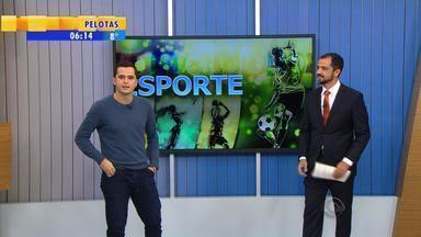 Esporte: confira os destaques desta segunda-feira (1) - Assista ao vídeo.