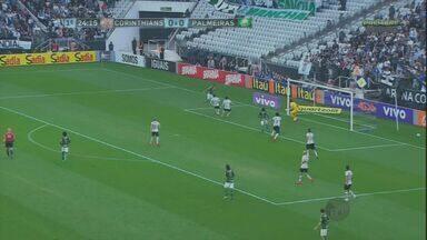 Confira os gols das equipes da capital paulista no Brasileiro - Destaque para a vitória do Palmeiras diante do Corinthians.