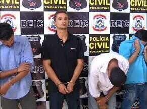 Suposta quadrilha de assaltantes de banco é presa pela polícia no Tocantins - Suposta quadrilha de assaltantes de banco é presa pela polícia no Tocantins