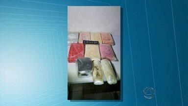 Duas mulheres são detidas com mais de 11 kg de cocaína em Campo Grande - A prisão aconteceu na madrugada desta segunda-feira (1). As duas mulheres já cumpriram pena por tráfico