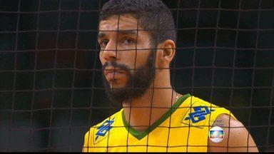 A dupla do Cruzeiro, Wallace e Willian, usam entrosamento para ajudar a seleção brasileira - time de vôlei bateu a Sérvia de novo, e dupla celeste foi importante no triunfo