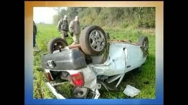 Polícia Civil deve abrir inquérito para investigar acidente na SC-464 - Polícia Civil deve abrir inquérito para investigar acidente na SC-464