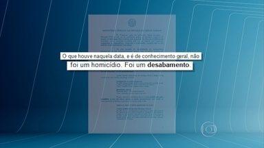MP pede que processo de queda do Viaduto Guararapes seja julgado por Vara Criminal - Promotores entenderam que não houve homicídio, mas sim desabamento qualificado por mortes e lesões corporais. Duas pessoas morreram e 23 ficaram feridas em julho de 2014.