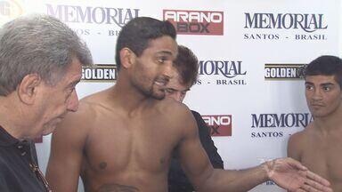 Arena Santos será a casa do boxe neste sábado - Medalhista olímpico Yamaguchi Falcão estará nos ringues.