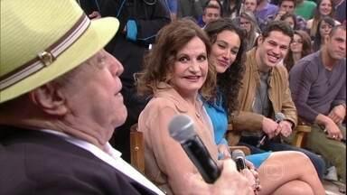 Rosamaria Murtinho e Mauro Mendonça conta como se conheceram - Atores comentam que a relação começou nos bastidores do teatro