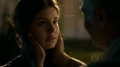 Rogério diz para Arlete que ela vai ter a chance de virar modelo - A fliha não queria que as coisas acontecem dessa forma