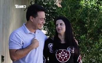 Conheça dois apaixonados por fusca: Carla Turatii e Murilo Nogueira - Carla é apaixonada no fusca que ganhou do marido e Murilo tem um fusca turbinado