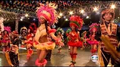 Começa a temporada de festas juninas em São Luís do Maranhão - O repórter Alex Barbosa traz as principais atrações de São Luís começa a temporada de festas juninas no centro histórico e em outros pontos da cidade.