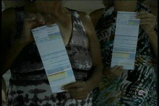 Moradores do bairro São Gonçalo receberam a fatura da conta de energia elétrica em branco - Eles estão apreensivos, pois não havia informações de quanto gastaram nem de quanto vão ter que pagar