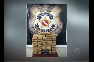 Cinquenta quilos de maconha são apreendidos em Itupiranga - Droga estava escondida dentro de carro.