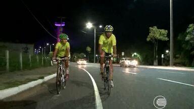 Atletas se preparam para a 6ª etapa do Campeonato Piauiense de Ciclismo - Atletas se preparam para a 6ª etapa do Campeonato Piauiense de Ciclismo