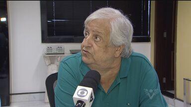 Santos confirma permanência de Marcelo Fernandes - Presidente do Santos, Modesto Roma Júnior, fala sobre a permanência do técnico.