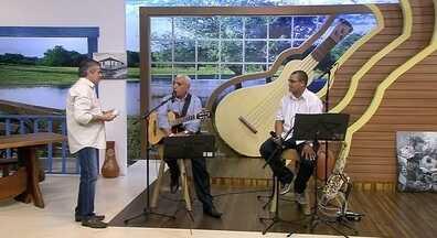 Na Sala Musical, Nivaldo Nunes e Sávio Barbosa, com músicas que vão do erudito ao popular - No palco, Nivaldo Nunes e Sávio Barbosa, com músicas que vão do erudito ao popular
