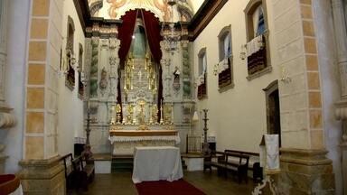 Museu de Arte Sacra de Paraty será reinaugurado - Guardado há mais de cinco anos, o museu de arte sacra será reaberto na igreja mais antiga de Paraty. O espaço guarda uma coleção de relíquias.
