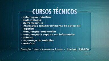 Terminam amanhã inscrições para cursos técnicos e de graduação do Senai em Londrina - São 12 opções de formação para quem já terminou ou está cursando o Ensino Médio.