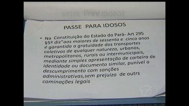 Em Santarém, idosos desconhecem direito a passagem gratuita - Lei é para as passagens interestadual e intermunicipal.