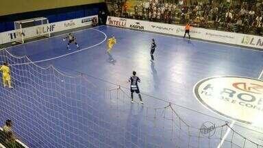 Orlândia vence o Marechal Rondon por 6 a 4 na Liga de Futsal - Jogo aconteceu no Ginásio Maurício Leite de Moraes, em Orlândia (SP).