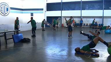 Confiança segue fazendo preparação física no Sabino Ribeiro - Confiança segue fazendo preparação física no Sabino Ribeiro
