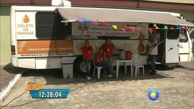 Campanha para doação de sangue em João Pessoa - O Hospital de Emergência e Trauma de João Pessoa está fazendo campanha para doação neste período das festas juninas.