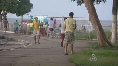 Complexo do Araxá está abandonado e criminalidade toma conta do local - Assim como outros lugares da orla, o complexo do Araxá também está abandonado. Um dos principais problemas é a violência causada pela falta de iluminação pública.