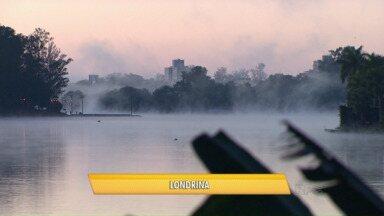 Temperaturas despencam em todo o Estado - A temperatura ficou abaixo de zero grau em várias cidades.