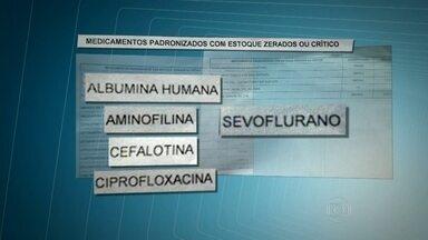 Funcionários reclamam da falta de medicamento em farmácia de hospital na Zona Leste - Há pelo menos duas semanas faltam cerca de 27 remédios na farmácia do Hospital Geral de São Mateus, onde médicos e enfermeiros buscam a medição dos pacientes internados.