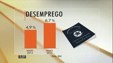 Dados do IBGE confirmam que o nº de desempregados cresce mês a mês - Instituto divulgou os dados de maio, que confirmam uma tendência.