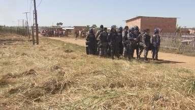 Reintegração de posse causa tumulto em Porto Velho - Assentamento Dilma Roussef foi desocupado com ajuda da Polícia Militar.