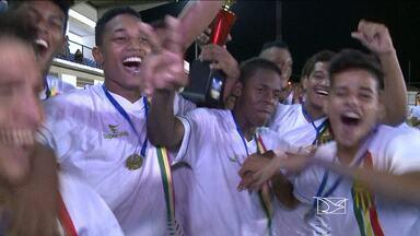 Sampaio é campeão da primeira etapa da Copa Maranhão sub-19 - Tricolor vence o Cefama na final da etapa de São Luís