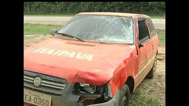 Homem morre atropelado na BR-163 em Belterra - Acidente ocorreu durante a noite de quinta-feira (25) na comunidade São Pedro.