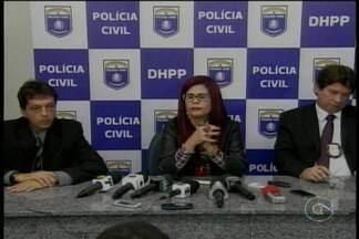 Polícia Civil fala sobre a investigação do assassinato da jovem Maria Alice - A jovem de dezenove anos foi estuprada e morta pelo padrasto.